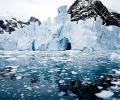 Откриха вулкан под леда на Антарктида