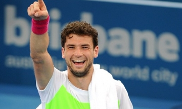 Grigor Dimitrov is the new model of Vogue