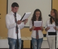 Награди за отличниците в езиковата гимназия – Кюстендил