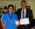 14-годишна е медалистка от Балканиада по джудо в Турция