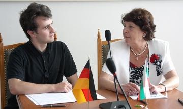 ВСУ приема за обучение немски студенти и докторанти
