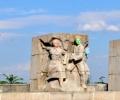 Вандали оскверниха Паметника на свободата във Видин