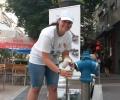 2500 чаши с вода раздадоха днес в София за жегите