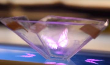 Направете си персонална 3D холограма с вашия телефон