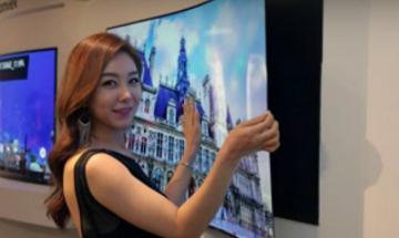 LG показа двустранен телевизор на изложението IFA