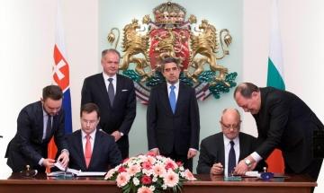 Министър Тодор Танев и министър Юрай Дракслер подписаха програма за сътрудничество