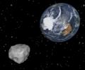 Земята отново се размина с гигантски сблъсък