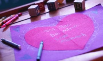 The Biggest Valentine Card