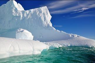 90 вулкана спят под  леда на Антарктида