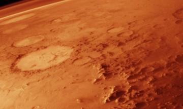Учени откриха гигантски ледници на Марс