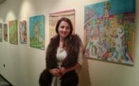 Габровска художничка кандидатства за Гинес с рисунка върху коприна