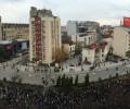 Македонски студенти и ученици протестират срещу държавен изпит