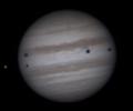 Хъбъл засне уникално явление на Юпитер