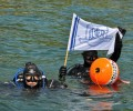 Студенти от МУ-Варна проведоха открит урок в Черно море
