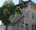 Комисия на ДНСК разследва срутването на гимназията в Казанлък
