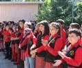 """Ученици от Бургас рецитираха """"Аз съм българче"""""""