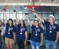Бургаската ПМГ с медали от състезание по математика в Хонконг