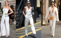 Белият гащеризон е на мода