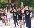 """Ученици от СОУ """"Вичо Грънчаров"""" се присъединиха към инициативата """"С тениска на бал"""""""