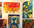 Българчета показват рисунки в Япония