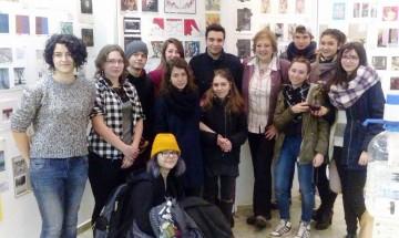 """Студенти от НБУ участват в Седма международна изложба  """"Живопис и смесени техники"""""""