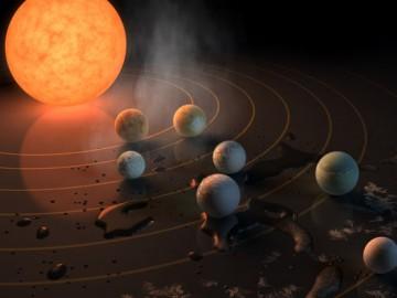 НАСА откри седем планети, подобни на Земята