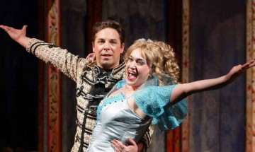Звездите на оперетата Катерина Тупарова и Александър Мутафчийски – 20 години заедно на сцената