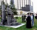 Симеон Радев вече има паметник в София