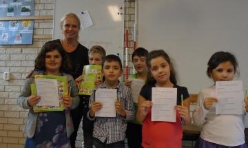 """""""Бъди грамотен"""" се проведе и в българското училище в Лайден"""